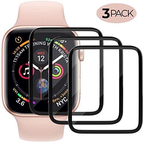 Screen Protector Compatible with Apple Watch HD Anti-Bubble Scratch-Resistant Guard Cover Protective Soft Screen Protector 3-Pack 667