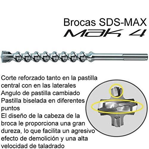 Makita P-78081 - Broca SDS-MAX MAK4