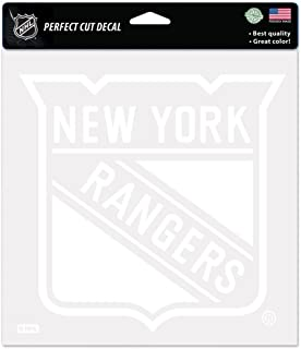 WinCraft NHL New York Rangers WCR29633014 Perfect Cut Decals, 8