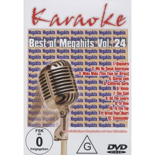Karaoke DVD - Best of Megahits Vol. 24 [Edizione: Germania]