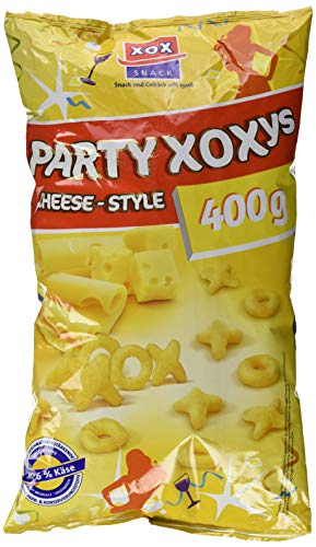 XOX Gebäck Party-XOXys Cheese-Style, 400 g 30340