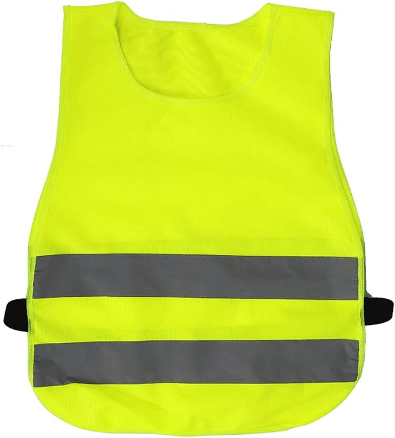 Reflective All items free shipping Clothing Kids Reflector Traffic Vest Ranking integrated 1st place Kid S