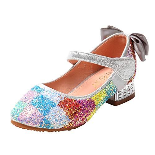YGbuy Sandalias Zapatos Cristal Lentejuelas Princess