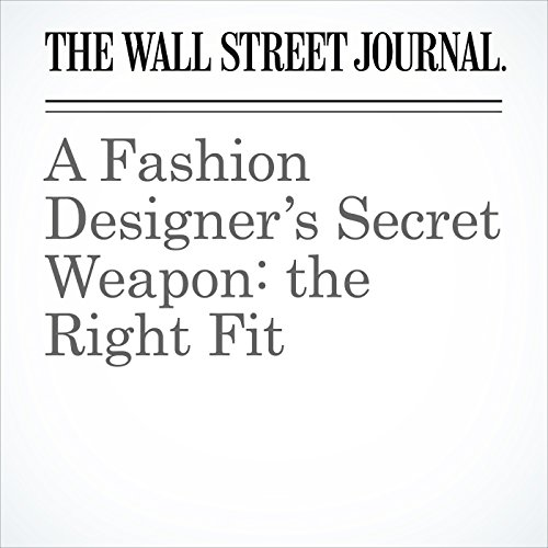 A Fashion Designer's Secret Weapon: the Right Fit audiobook cover art