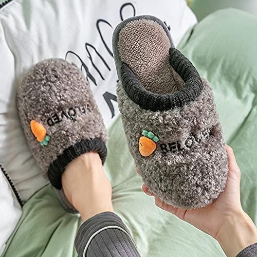 Zapatillas De Casa para Mujer Primavera,Pantuflas De Plataforma De Felpa CáLidas Y Antideslizantes para El Hogar Lindo De OtoñO E Invierno para Mujeres, Pantuflas para NiñOs, Pantuflas Suaves Y Suave