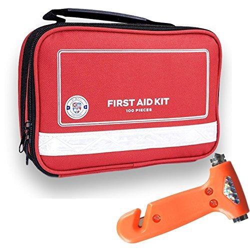 Always Prepared 100 Piece First Aid Kit - All-Purpose Lightweight