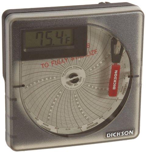 Dickson SL4350 Temperature Chart Recorder with Digital Display, 4