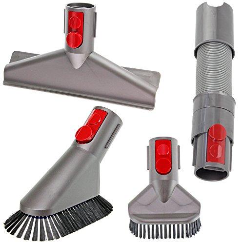 Spares2go tubo di prolunga + mini Brush Tool kit di attacchi per assoluta cordless aspirapolvere Dyson V10SV12Cyclone