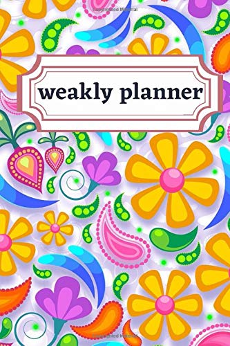 weakly planner: Weakly Calendar Planner Goals And To Do List