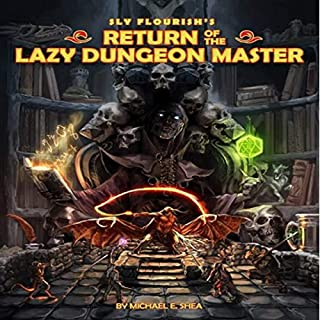 Sly Flourish's Return of the Lazy Dungeon Master audiobook cover art