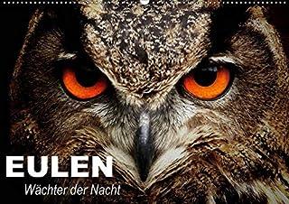 Eulen. Wächter der Nacht (Wandkalender 2021 DIN A2 quer): Die mystischen Waldbewohner mit großer Fan-Gemeinde (Geburtstagskalender, 14 Seiten )