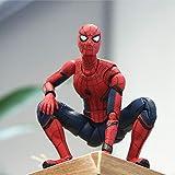 Figure Toys SHF Spiderman: Lejos De Casa Spiderman Carácter Modelo 15cm - Regalo De Los Niños Deluxe Version