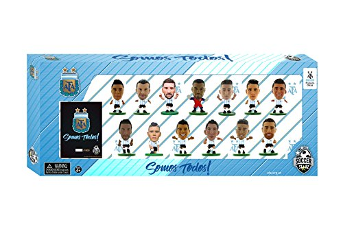 SoccerStarz ARGTP18 Argentinien 13 Spieler Team Pack 2018 Edition Figur