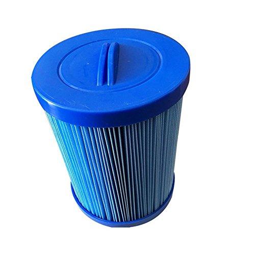 MYY Filtre pour Spa Antimicrobien Remplacement Filtre Cartouche pour Bassin, Bleu (1Pack)