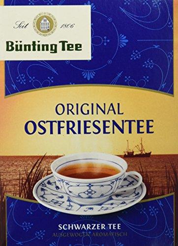 Bünting Tee Original Ostfriesentee 40 x 1.5 g Beutel, 10er Pack (10 x 60 g)
