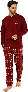 Nisanca Kışlık Sıcak Tutan Erkek Polar Pijama Takımı
