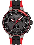 Tissot T111.417.37.441.01 Men's Watch T-Race Cycling Vuelta 2017 Black 44.5mm Stainless Steel