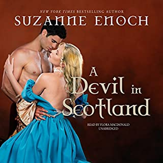 A Devil in Scotland audiobook cover art