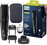 Philips Barbero Serie 5000 BT5515/15 - Recortadora de barba con 40 posiciones de longitud, resistente al agua y cuchillas metálicas autoafilables