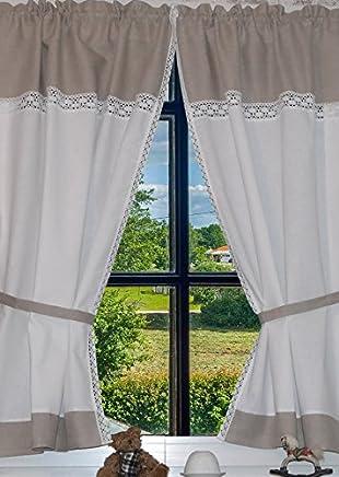 Suchergebnis auf Amazon.de für: Vorhänge im Landhausstil