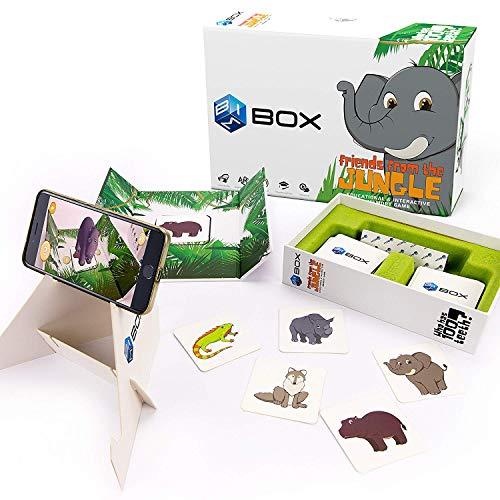 BIMBOX Augmented Reality Kids Memory Animal Game  Bonus: SelfLearning App