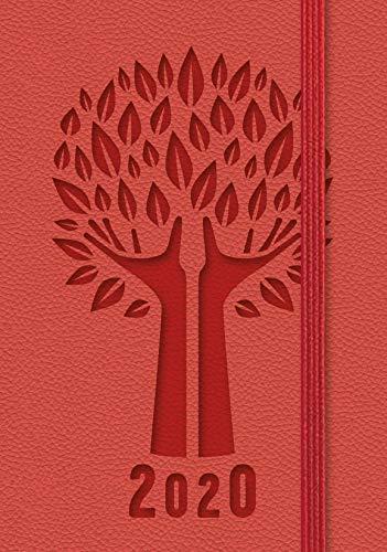 Agenda settimanale tascabile rossa 2020 | 9 x 14 cm