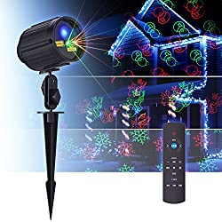Top 10 Best Christmas Light Projectors of 2019 (Laser & LED) – Reviews