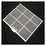 GeGe Filtro de Aire Acondicionado Personalizado, tamaño 29. 5X25CM, D00248, Apto para Nacional G120KC, Máquina montada en la Pared, Piezas de electrodomésticos