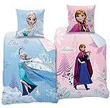 'CTI Reversible Juego de ropa de cama Disney' s Frozen 135x 200cm + 80x...