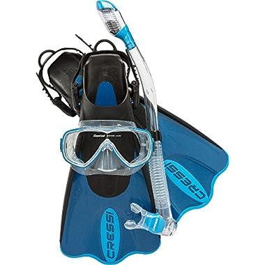 Cressi Palau SAF Set, blue, M/L