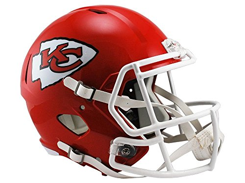 Riddell NFL Kansas City Chiefs Full Size Speed Replica Football Helmet