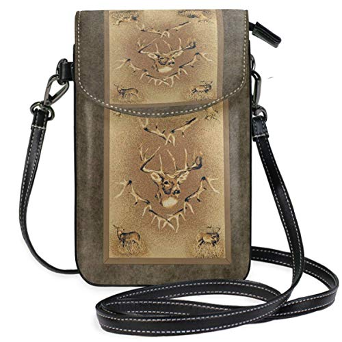 XCNGG Whitetail Cell Phone Purse Wallet for Women Girl Small Crossbody Purse Bags