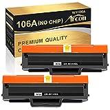 Cartucho de tóner compatible Arcon HP 106A W1106A para HP Laser MFP 135wg MFP 137fwg MFP 135ag MFP 135w 135a 137fnw 107a 107w 107r tóner negro (paquete de 2)