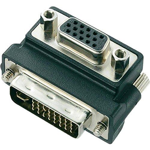 ICT Adattatore DVI 24+5 M/VGA F A 90 Gradi