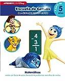 Matemáticas: restas sin llevar · restas llevando · problemas sencillos de restas (Disney Escuela de Genios. Cuadernos de refuerzo): (Incluye pegatinas)