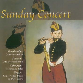 Tchaikovsky & Mozart & Debussy & Offenbach: Sunday Concert