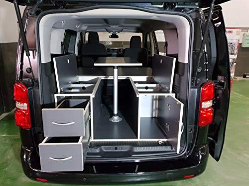 Camper Set für Citroen Spacetourer, Peugeot Traveller, Toyota Proace Verso Größe M