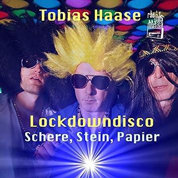 Schere, Stein, Papier (Lockdowndisco 1. Welle)