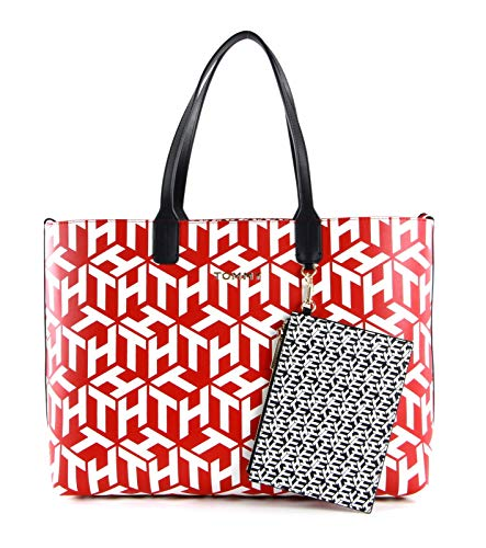 Tommy Hilfiger Iconic Tommy Tote bag red/white