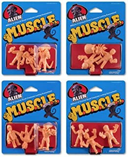 Alien M.U.S.C.L.E. Mini- Figures Wave 1 Set