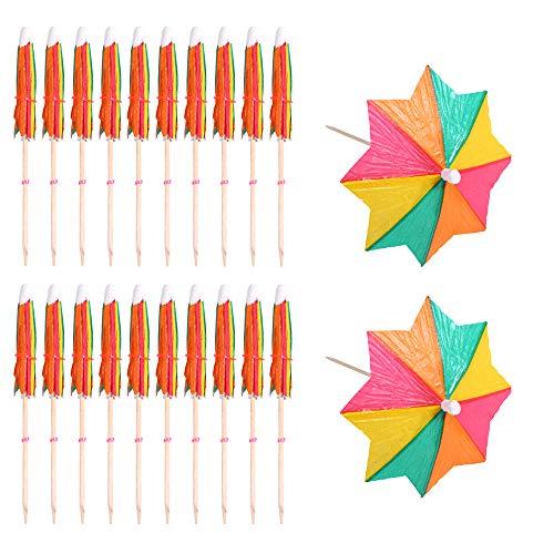 Paraguas De Cóctel Sombrillas Parasoles Bebidas Colorido Fiestas Parasoles De Papel Colorido Para Fiestas Parasoles Papel Para Fiestas Colorido Parasoles Para De Cócteles Para Bebidas 144 Piezas