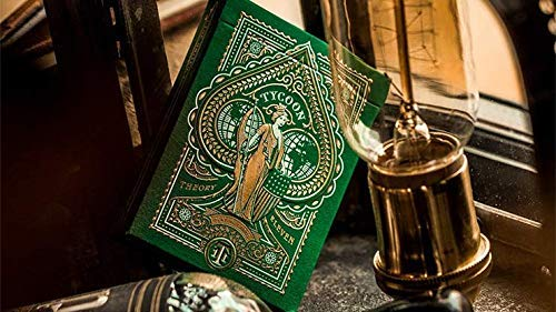 theory11 Limited Edition Green Tycoon Playing Cards
