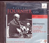 Beethoven Sonatas Opus 5 No.2 and Opus 69, Variations Opus 66 and WoO 45 (1991-07-28)