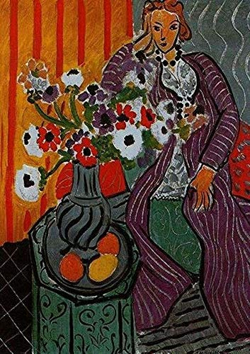 French Enrique Matisse Geranium Famous Painting Mural Modular Picture Prints and Posters Amount Frameless Canvas Painting K 70x100cm
