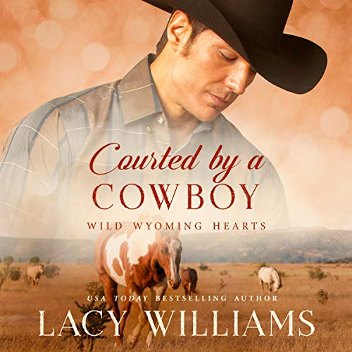 Courted by a Cowboy audiobook cover art