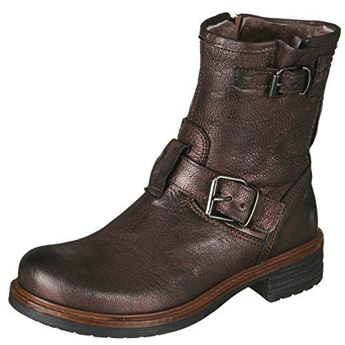 Momino 1411M Stiefel Boots Stiefeletten Mädchen, Brau (50662 Savana Wine), 38