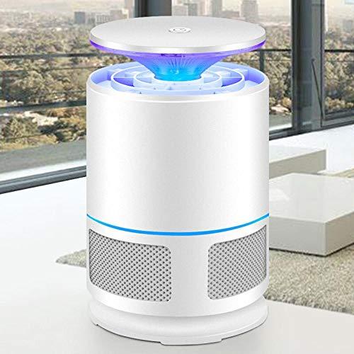 YBXD Lámpara de Mosquito USB Mute ELECTRÓNICO Mosquito Repelente LED Succión-Blanco_Alto 210mmx de Ancho de 120 mm.