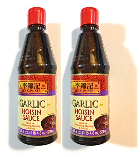 Lee Kum Kee Garlic Hoisin Sauce 20.8 Oz(2 Pack)魚香海鮮醬
