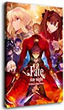 Póster decorativo sin marco con imágenes de Fate Stay Night Anime, póster de...