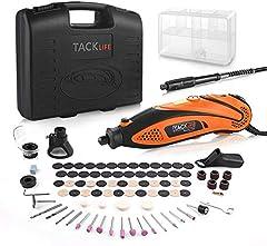 Zaawansowana wielofunkcyjna narzędzie Tacklife RTD35ACL z 80 akcesoriami i 4 załącznikami do popularnego uniwersalnego sprzętu do rękodzieła i majeda, w tym kaptura ochronnego
